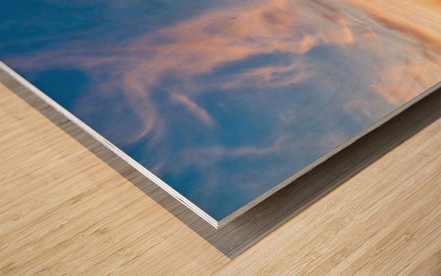 The Magic of la Bloc Wood print