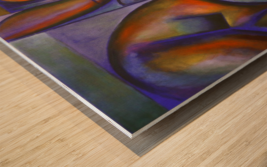 Roundism – 12-05-18 Wood print