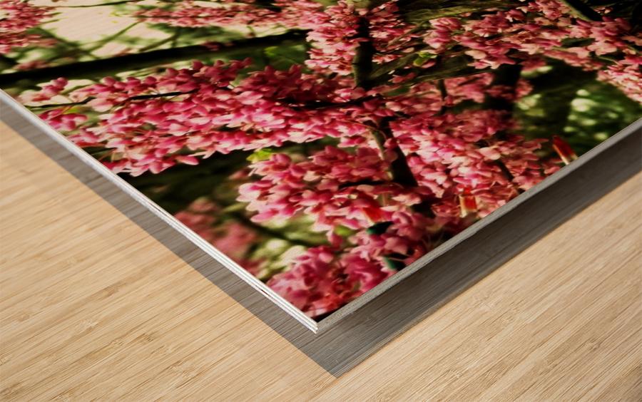 A (8) Wood print