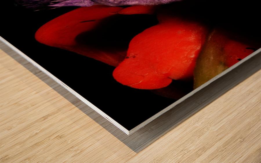 B (8) Wood print