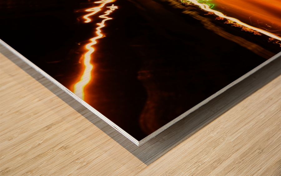 E (7) Wood print