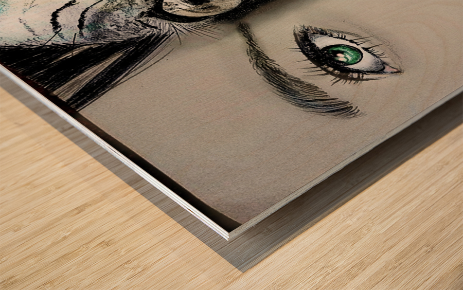 Reflection 2 Wood print