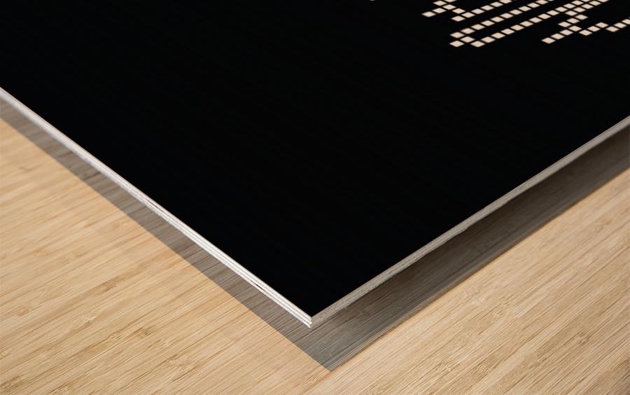Pixel U.S.A. Wood print