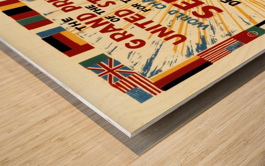 Sebring Us Grand Prix World Championship 1959 Wood print