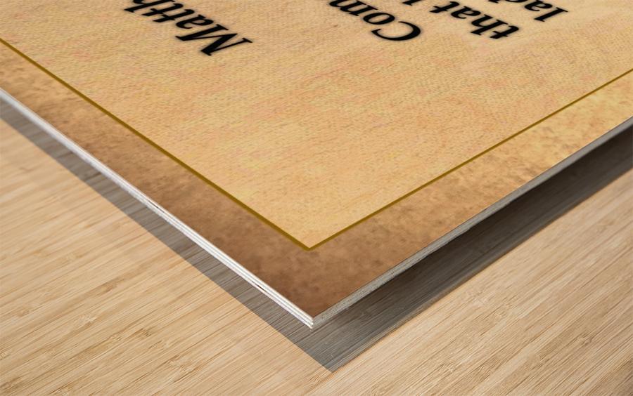 Matthew 11 28 Wood print
