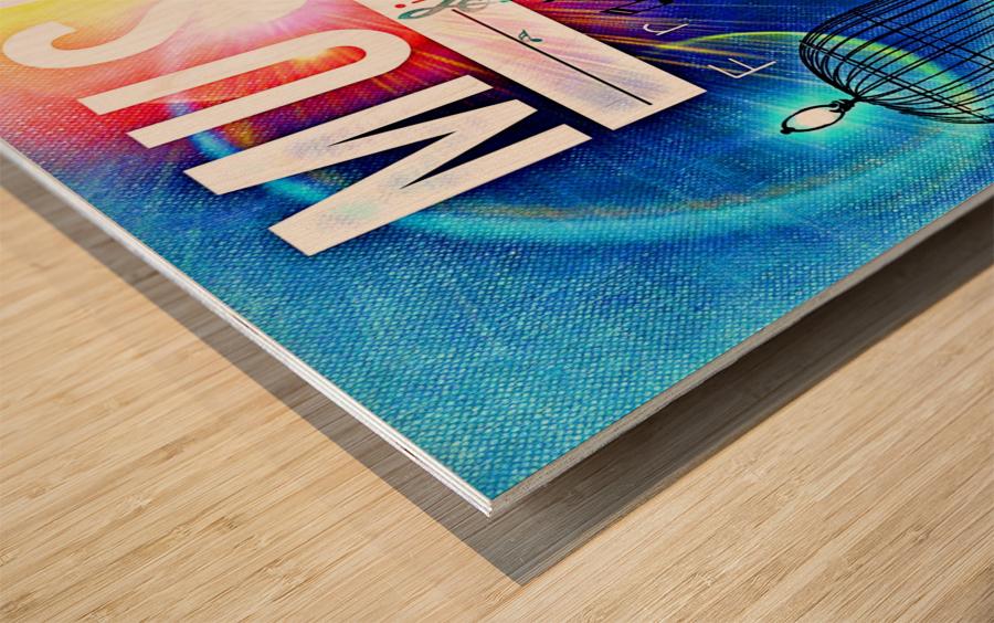 Music_OSG Wood print