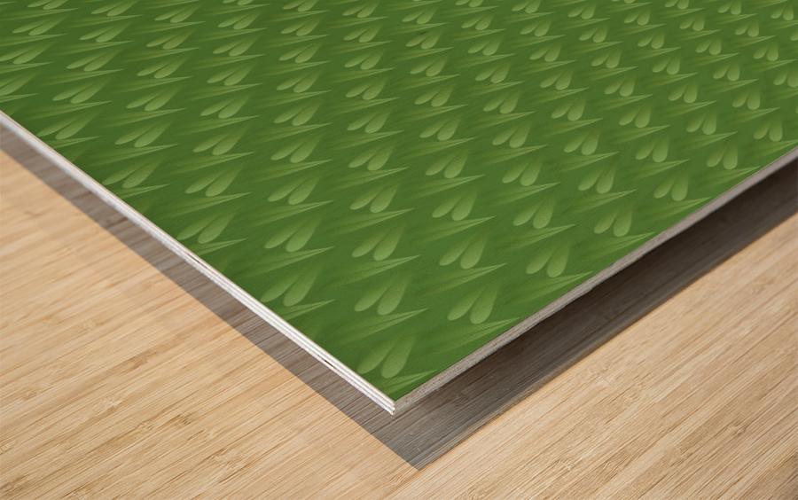 Green Park Wood print
