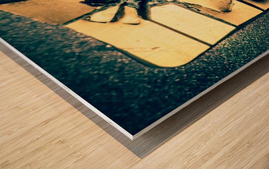 Abstract 029 Wood print