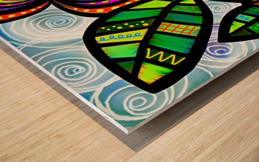 Flower Power_OSG Wood print