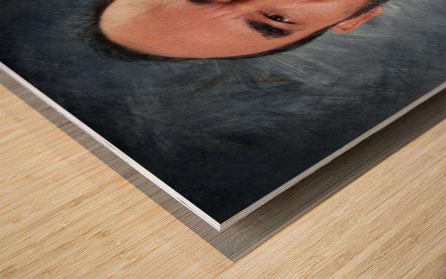 ahson qazi  Wood print