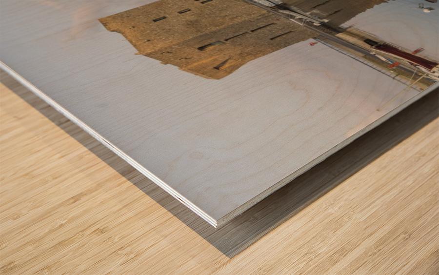 Acciaroli Wood print