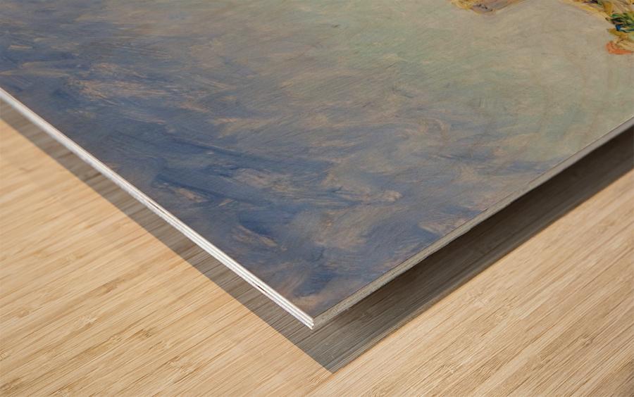 Lile Saint-Honorat Wood print