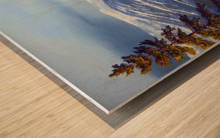 Lake Tahoe 1 Wood print