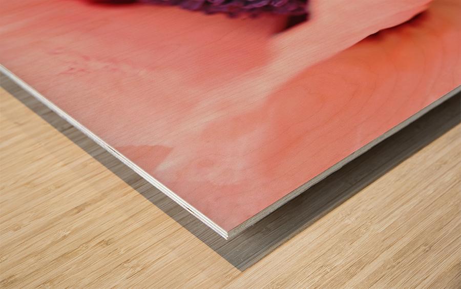 Pink Poppy Soul Wood print