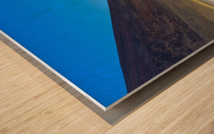 Laguna Meñiques Wood print
