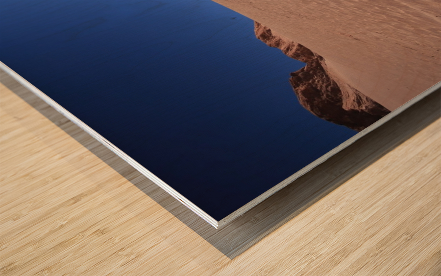 Sandboard Wood print