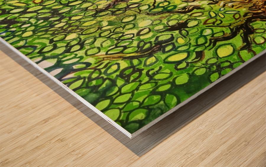 Landscape 2 2018 Wood print