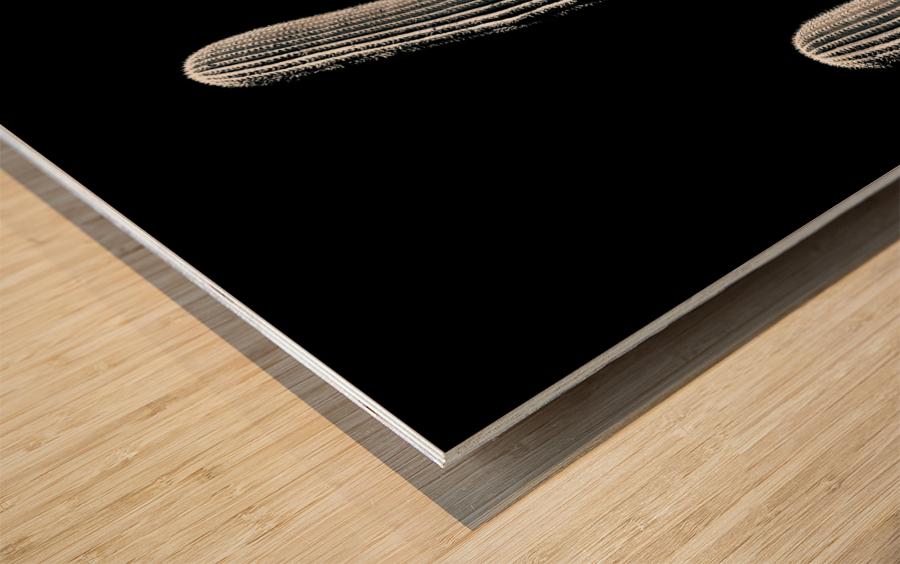 Saguaro 3 Wood print