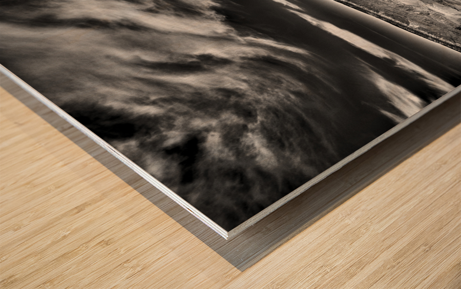 A Grand Expanse Wood print
