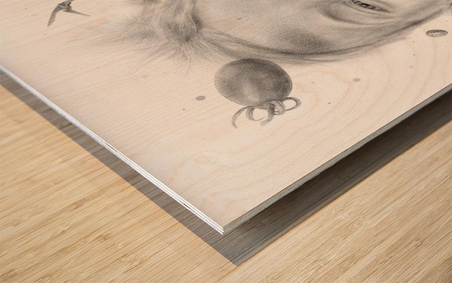 Tomatowen Wood print
