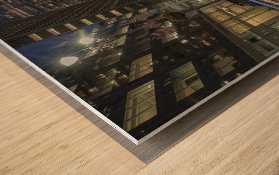 Zoom Wood print