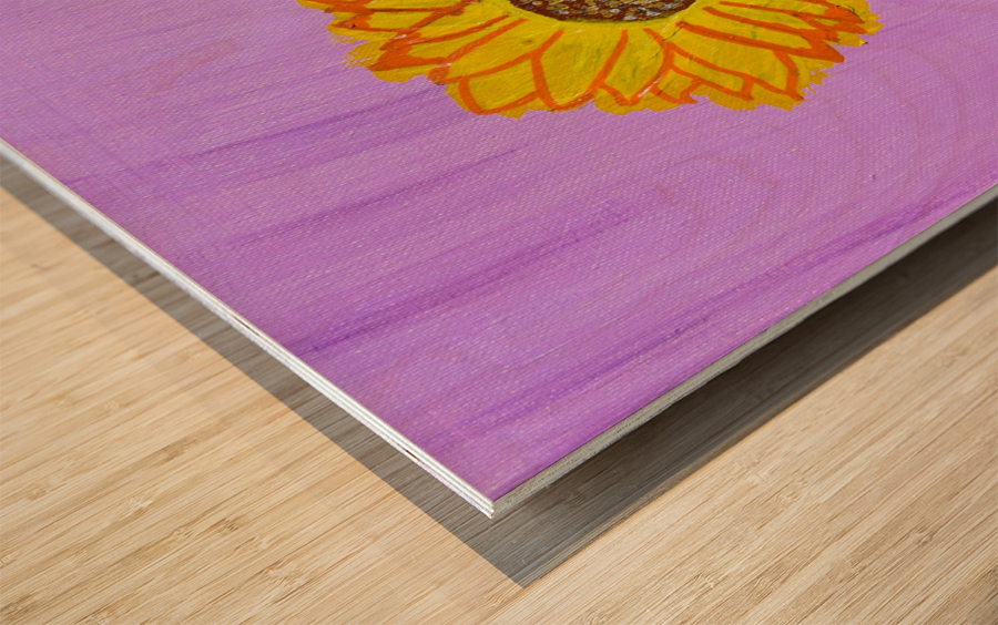 Sunflower. Annie F. Wood print