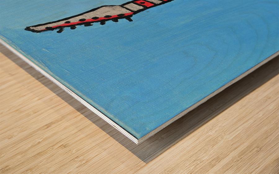 Rock N Roll. Glenn N. Wood print