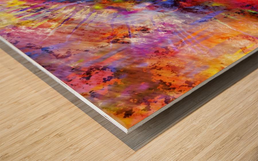 COSMIC Wood print
