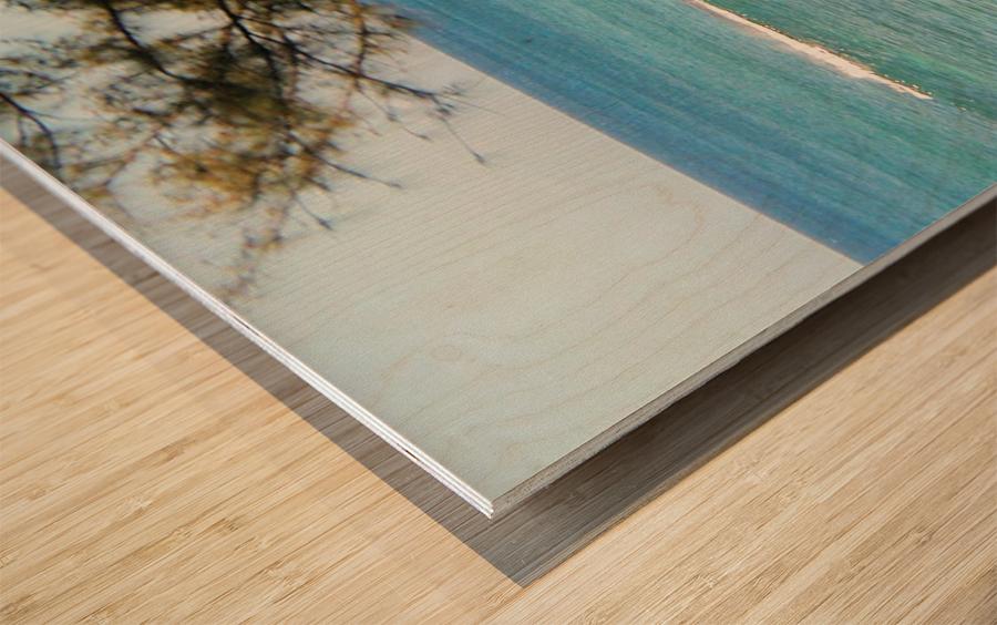 Ocean8 Wood print