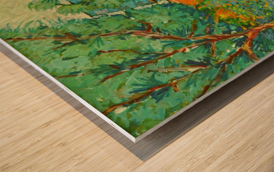 G100 Wood print