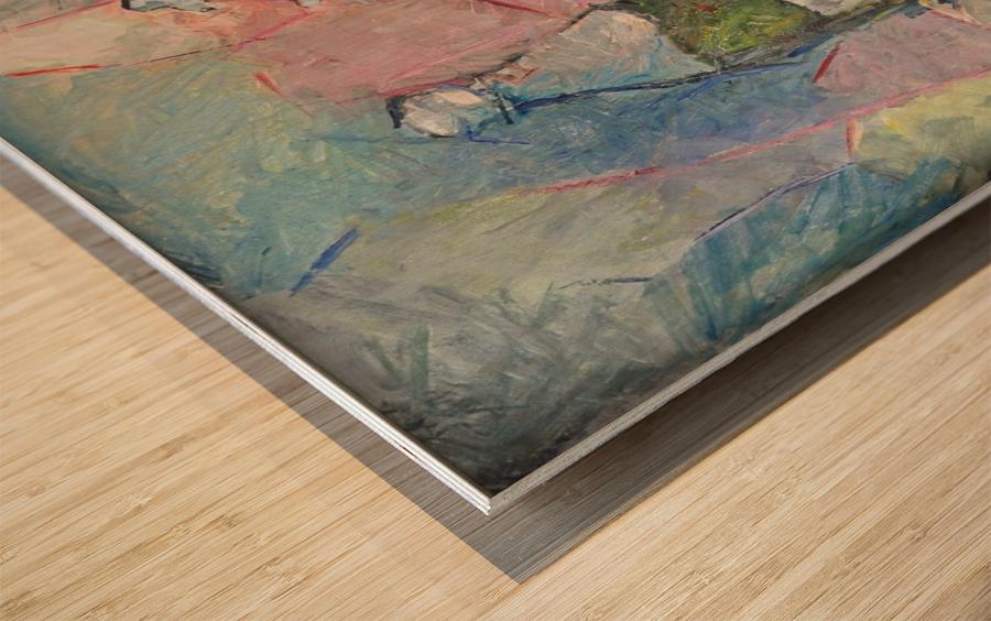 G124 Wood print