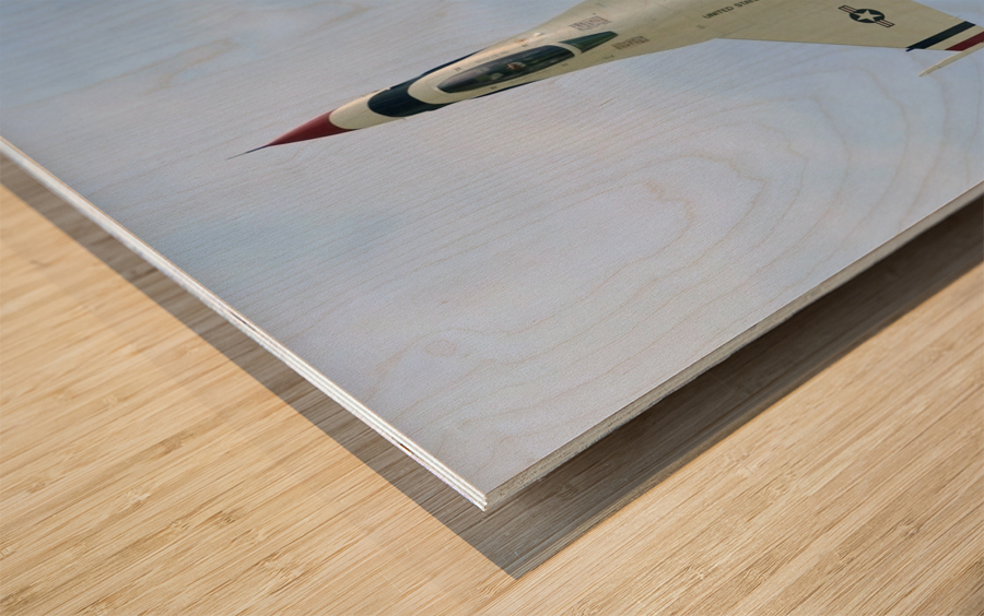 The United States Air Force Demonstration Team Thunderbirds Wood print