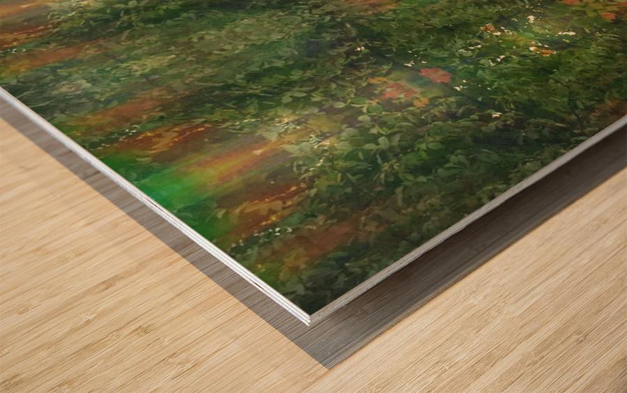 Mighty Tree Folks Wood print