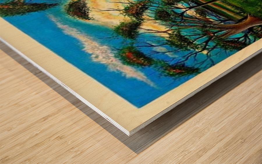 Spring Lake New Jersey Wood print