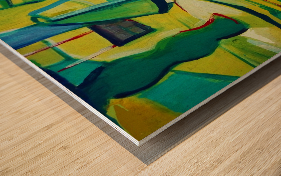 interno Wood print