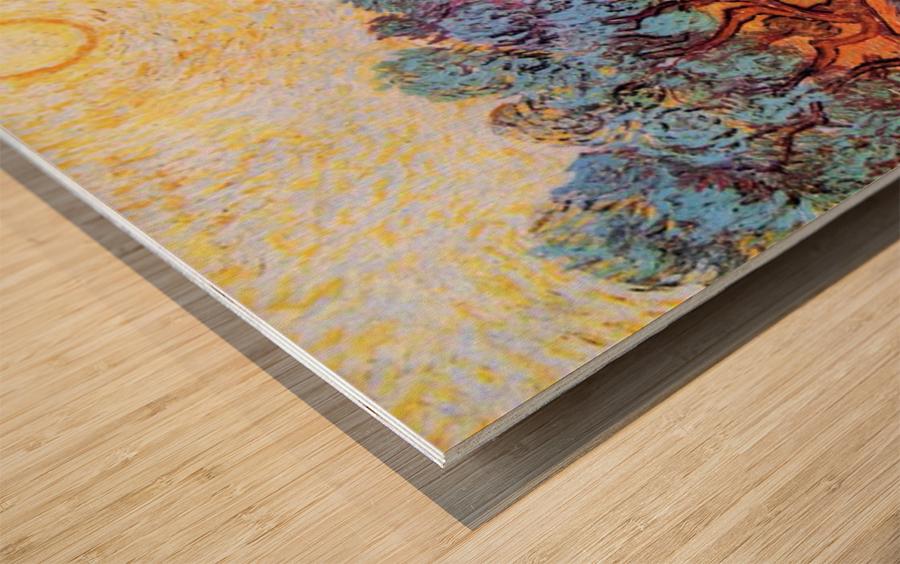 Olive Grove by Van Gogh Wood print