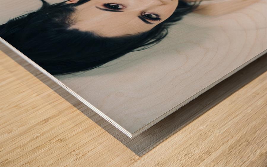 Glimpse Wood print