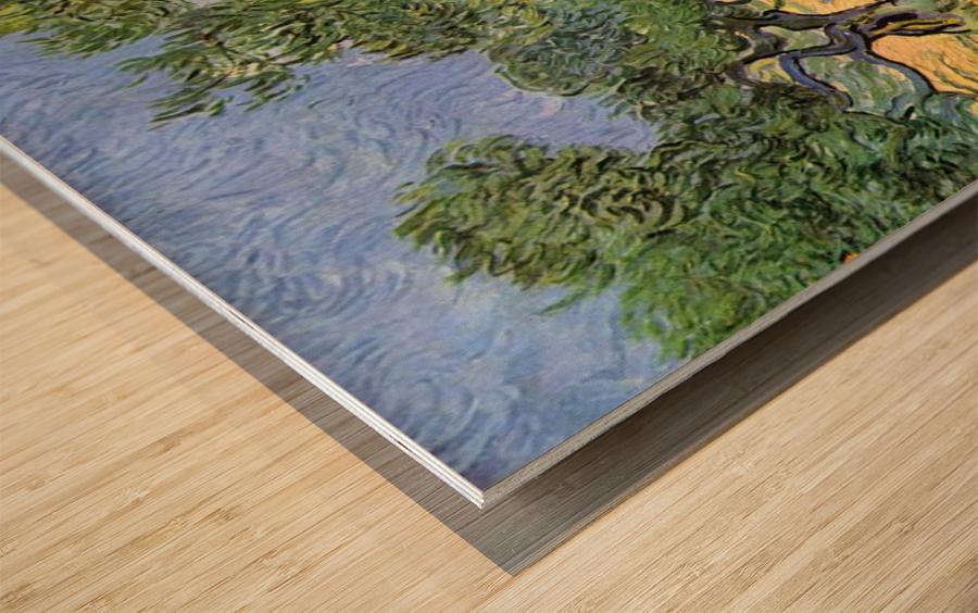 Olive Trees by Van Gogh Wood print