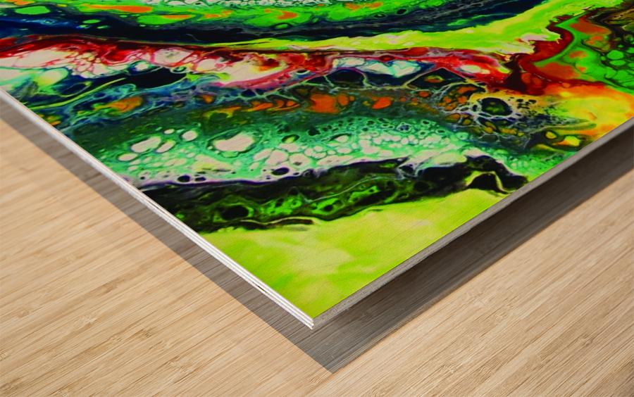 Fresh Earth  Wood print