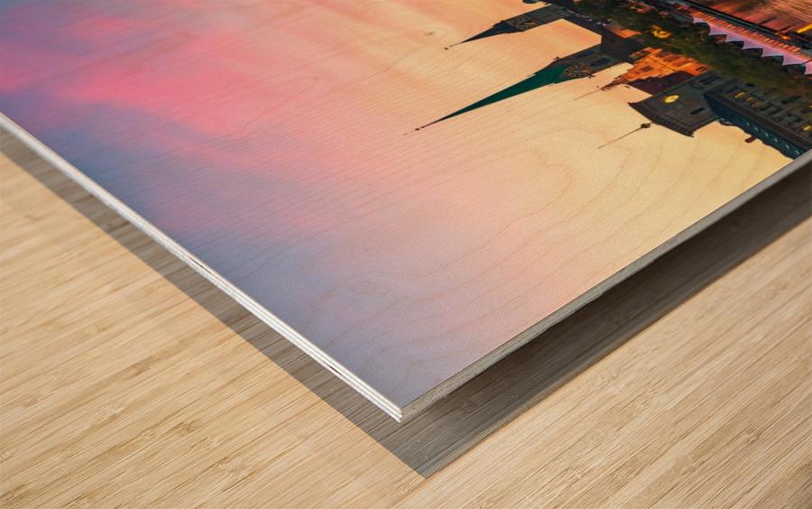 ZÜRICH 05 Wood print