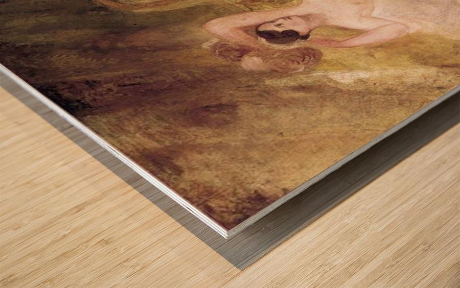 Reclining Venus by Joseph Mallord Turner Wood print