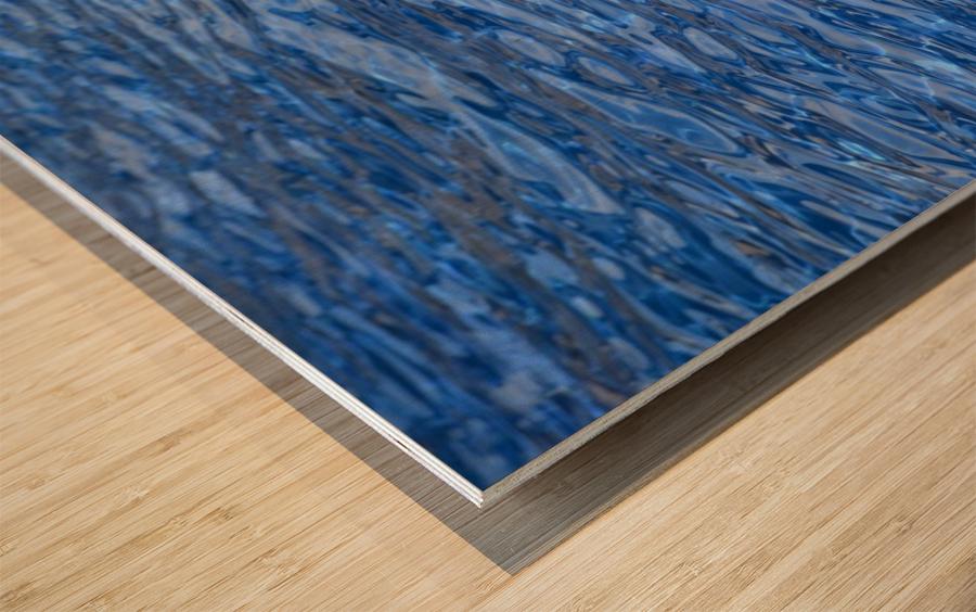 water, blue, structure, nature, wave, swimming pool, swim, liquid, Wood print
