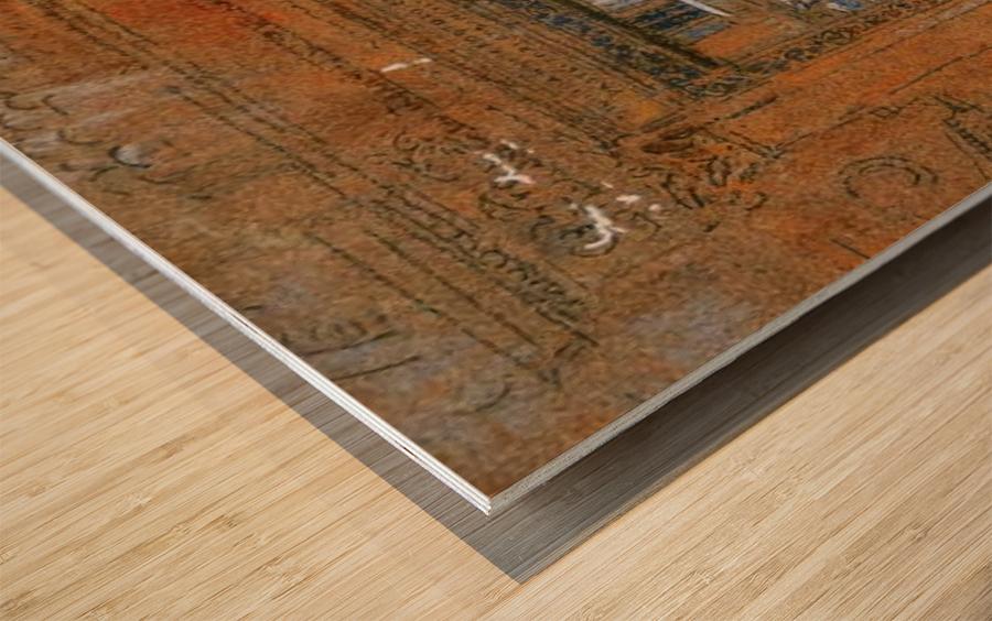 San Giovanni Apostolo et Evangelista by Whistler Wood print