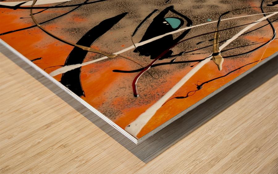 3139 Wood print