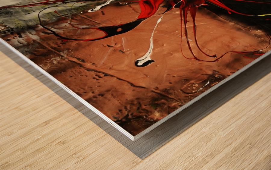 1121 - voiliers tendances  Wood print