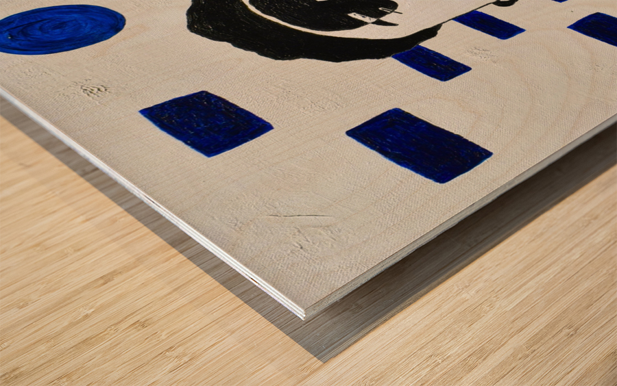 Kate C. Mirror Wood print