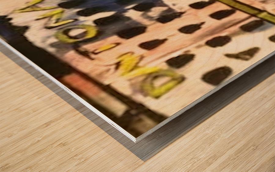 0 25 Wood print