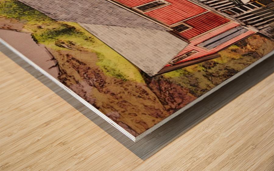 Trinity bay SQArt Wood print