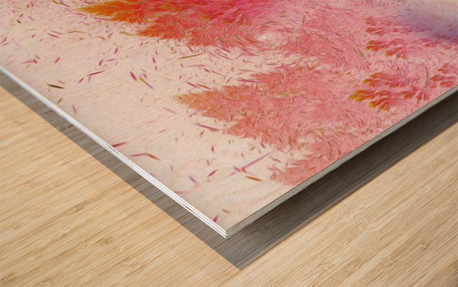 soft wind 6 Wood print