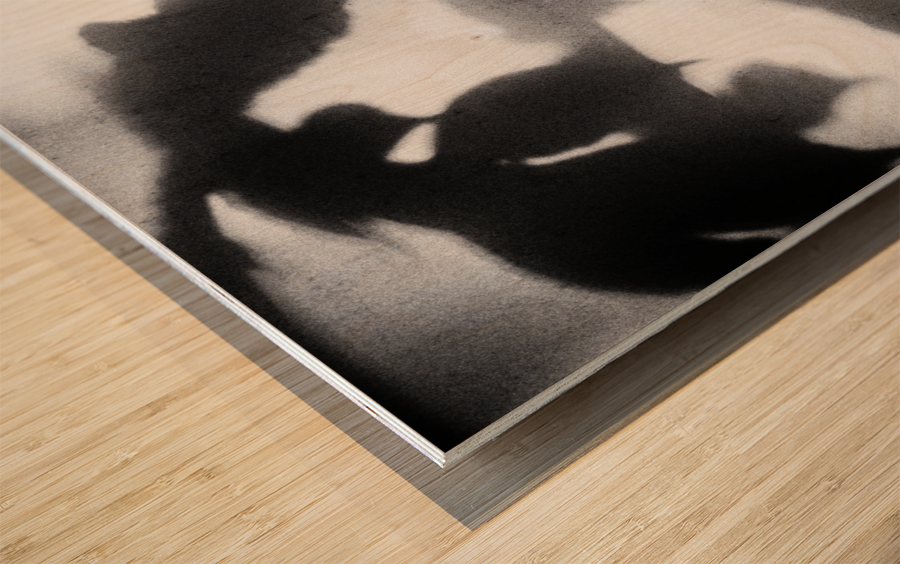 Plant Shadow Wood print